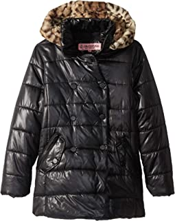 Theodora Double Breasted Puffer Jacket (Little Kids/Big Kids)