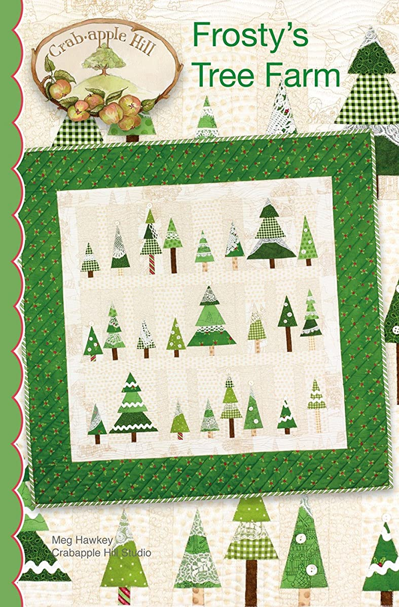 Frosty's Tree Farm Christmas Embroidery Pattern by Meg Hawkey From Crabapple Hill Studio #441 - 35