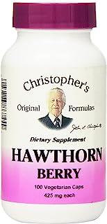 Dr. Christophers Formulas Hawthorn Berry, 100 Vegicaps (Pack of 1)