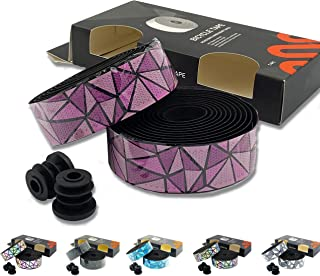 Road Bike Handlebar Tape x2 – Revitalise & Enhance your Bike with Colourful New Lightweight Comfortable Grips. Easy to use...