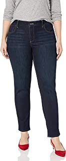 Lucky Brand Women's Plus Size Mid Rise Ginger Skinny Jean in El Monte