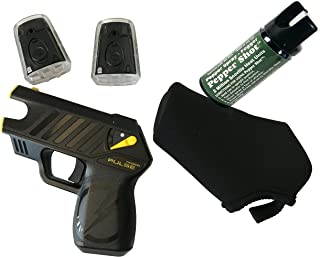 Taser Pulse with Laser, LED, 2 Live Cartridges, 1 Soft holster, Lithium Power Magazine(Battery Pack), and Target, (L5.25
