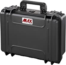 Panaro Max Cases, waterdichte koffer zonder kunst, zwart, M
