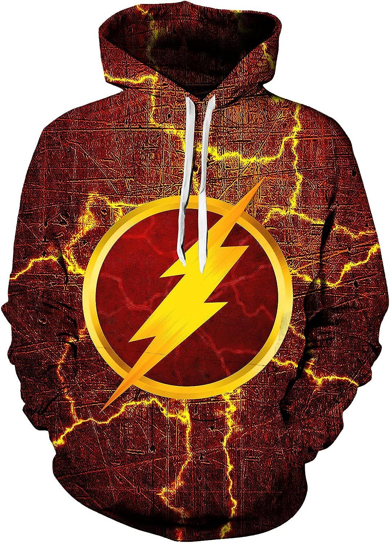 The Flash Kids Child Hoodies Casual Sweater 3d Printed Sweatshirt Boys Girls Pullovers Hoodies Fashion Cool Sweater