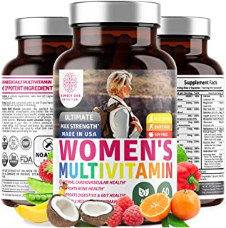 N1 Nutrition Women's Daily Multivitamin, Premium Multimineral Supplement, [37 Vitamins & Minerals] Magnesium, Biotin, Zinc...