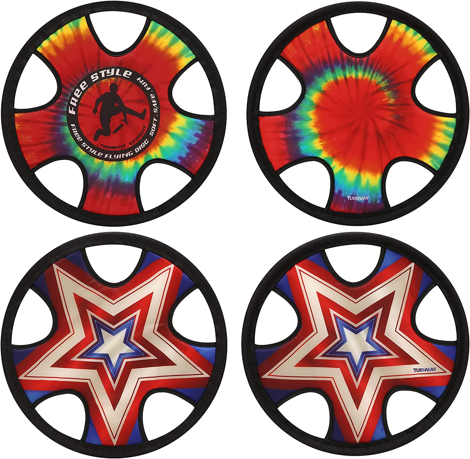 TurnWay Outdoor Soft Super special price Frisbee Max 47% OFF Throwing Fly Disc Toy Flying