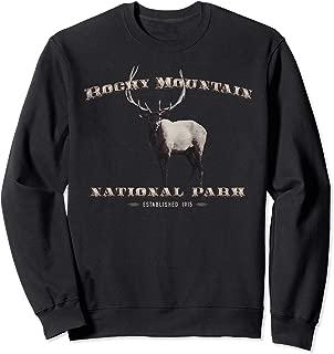 Rocky Mountain National Park Est. 1915 Elk Sweatshirt