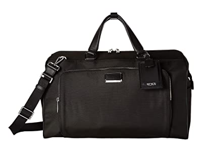 Tumi Larkin Anderson Duffel (Black/Silver) Duffel Bags