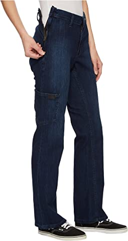 Side -Zip Jeans in Dark Classic