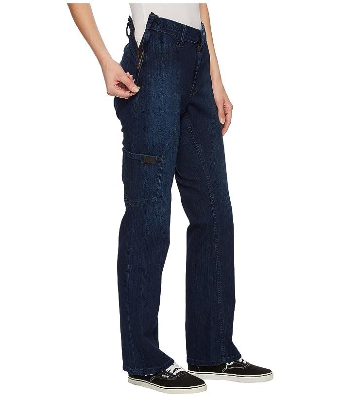 ABL Denim Side -Zip Jeans in Dark Classic (Dark Classic) Women's Jeans