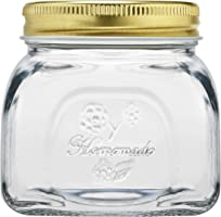 Pasabahce Home Made Storage Jar with Lid–Gold