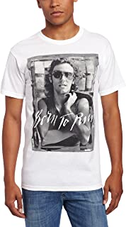 FEA Men's Bruce Springsteen B and W Born to Run Mens T-Shirt
