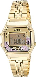 Casio LA680WGA-4C Women's Vintage Gold Tone Alarm Digital Watch