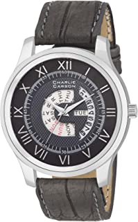 Charlie Carson Day & Date Display Grey Watch