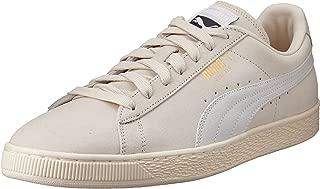 PUMA Adult's Suede Classic Sneaker, Beige (Birch-Puma White), 14.5 US Women / 13 US Men