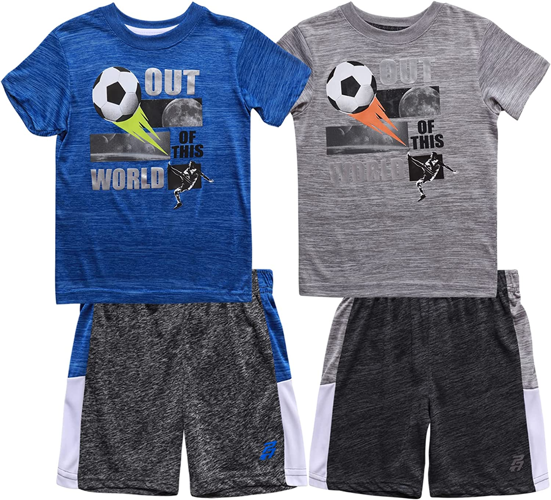 Pro Athlete Baby Trust Boys' Active Shorts 4 Piece - Set Short Sleeve Manufacturer regenerated product