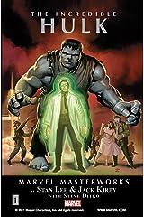 Incredible Hulk Masterworks Vol. 1 (Incredible Hulk (1962-1999)) Kindle Edition