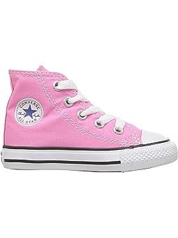 hot pink kids converse