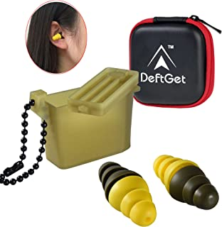 Ear Plugs High Fidelity livemusic Earplugs / 2-in-1 Noise Cancell earbuds Shooting Protectors/Protection For Shooters/Construction/Sleeping/Concerts by deftget