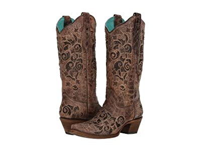 Corral Boots A3228 (Brown) Cowboy Boots