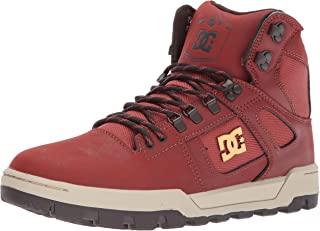 DC Men's Spartan HIGH WR Boot-M Skate Shoe