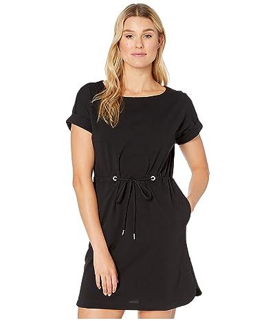 Tommy Bahama Veranda Short Sleeve Dress (Black) Women