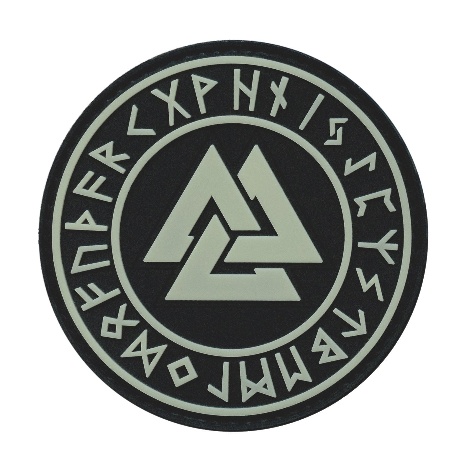 2AFTER1 Vegvisir Viking Compass Norse Rune Morale Tactical Fastener Patch