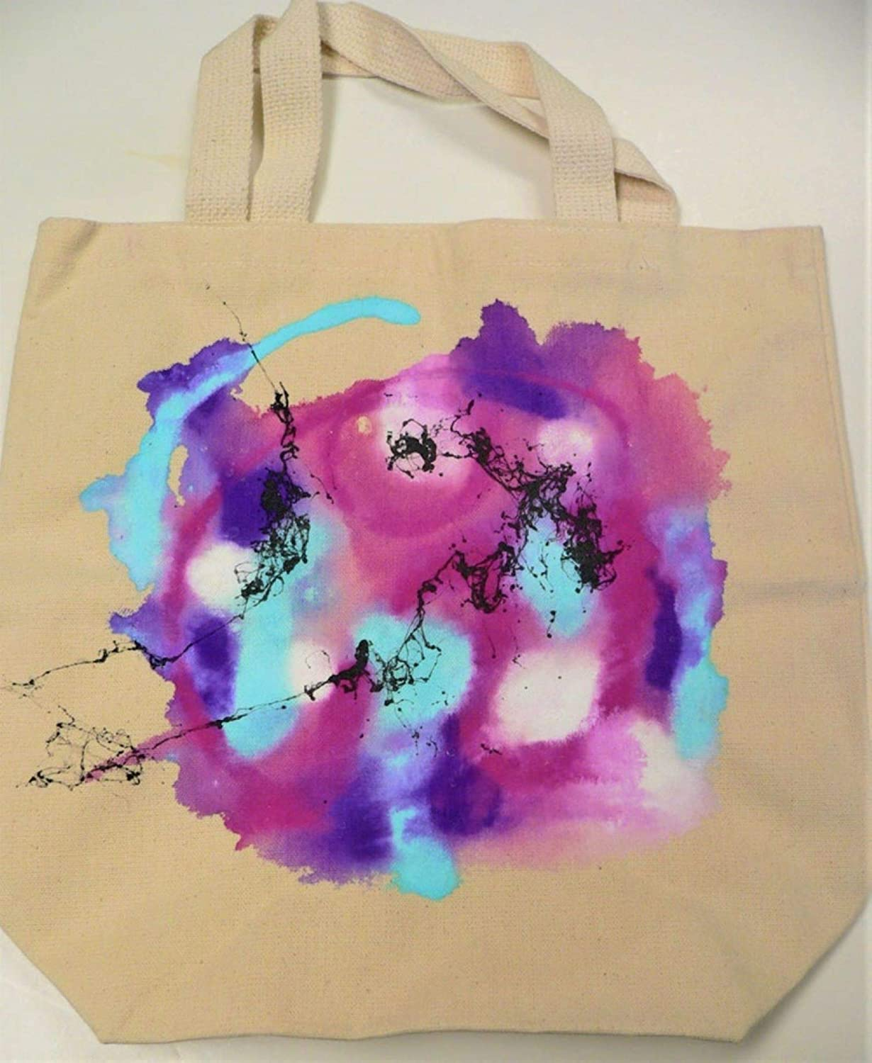 Hand-Painted shipfree Canvas Tote - Price reduction Profusion Rose