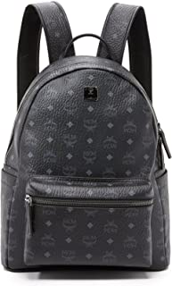 mcm backpack large black