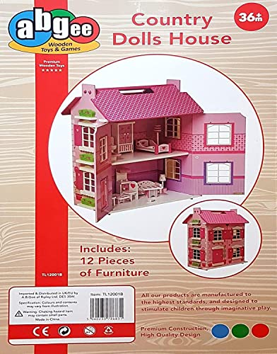 J Wooden Country Dolls House