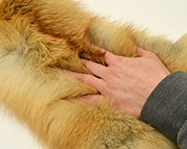 tanned red fox pelts
