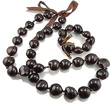 BlueRica Kukui Nut Lei Necklace/Bracelet Set