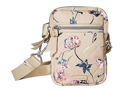 Vera Bradley Performance Twill RFID Convertible Small Crossbody (Strawflowers) Handbags