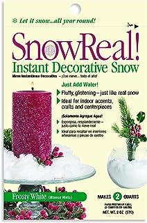 JRM SnowReal Instant Decorative Artificial Snow