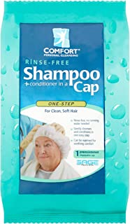 Comfort Medical Personal Cleansing Rinse-Free Shampoo + Conditioner in a Cap - 1 each, Pack of 6