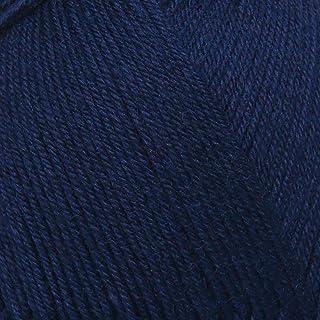 ElbSox Merino - 4 Uni, Sockenwolle 4-fach, Farbe:010 - Marine, Merinowolle Mischung, 100g Wolle als Knäuel, Lauflänge ca.420m, Verbrauch 500g, Nadelstärke 2-3, Wolle zum Stricken und Häkeln