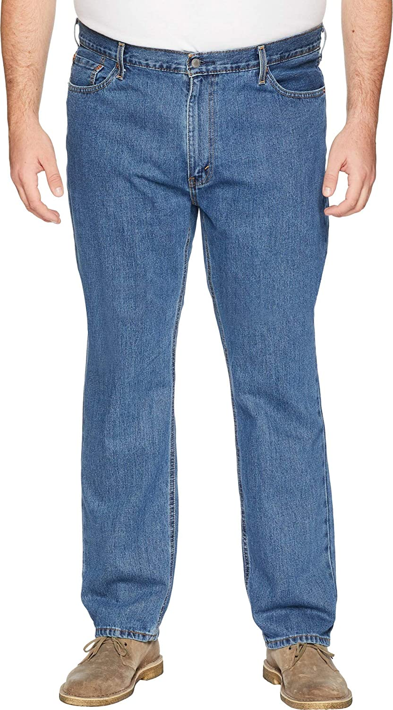 Louisville-Jefferson County Max 56% OFF Mall Levi's Men's Big Tall 541 Fit Stonewash Medium Athletic Jean