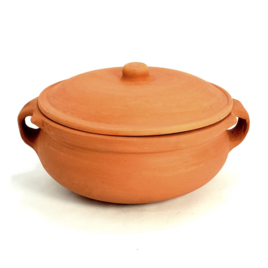Ancient Cookware Clay Curry Pot, Small, 7 Inch