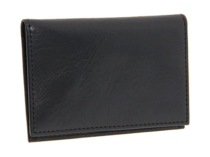 Bosca  Old Leather Collection - Calling Card Case (Black Leather) Credit card Wallet