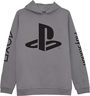 Playstation Logotipos Niños Sudadera con Capucha   mercancía Oficial   Las Edades de 5-13, Regalos PS4 PS5 Gamer, Muchacho...