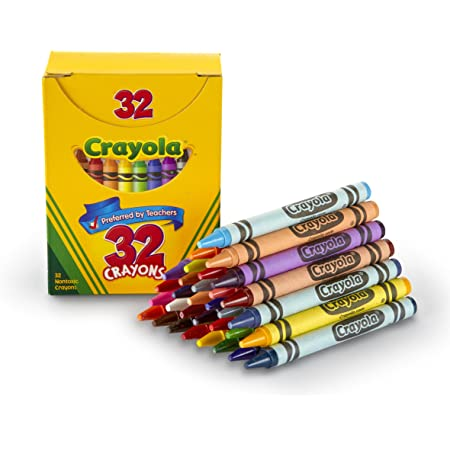 Crayola Crayons, Assorted Colors, Art Tools for Kids, 32 Count