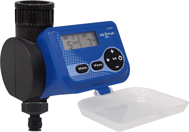 Drip&Fresh C5190 Programador Digital Sistemas, Apertura y Cierre por Segundos. Especial nebulización. No Sirve para riego