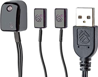 BAFX Products - All-in-One Infrared IR Repeater Kit/Remote Control Extender Cable / 1, 2 or 4 Device Contro (2 Device)
