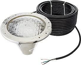 Pentair 78456300 Amerlite Underwater Incandescent Pool Light with Stainless Steel Face Ring, 120 Volt, 100 Foot Cord, 500 Watt