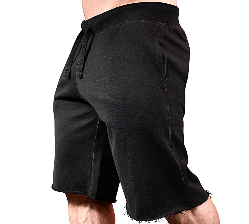 MMA Training Shorts Workout Clothes Black