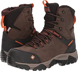 "Merrell Work Phaserbound 8"" Zip Waterproof CT"
