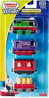 Thomas & Friends Collectible Railway Percy's Mail Delivery Die Cast 4 Pack