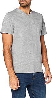 MERAKI Camiseta con Cuello Redondo Hombre, Algodón Orgánico