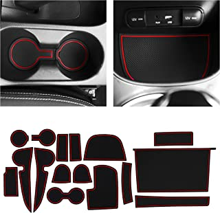 CupHolderHero for Kia Soul Accessories 2014-2019 Premium Custom Interior Non-Slip Anti Dust Cup Holder Inserts, Center Con...
