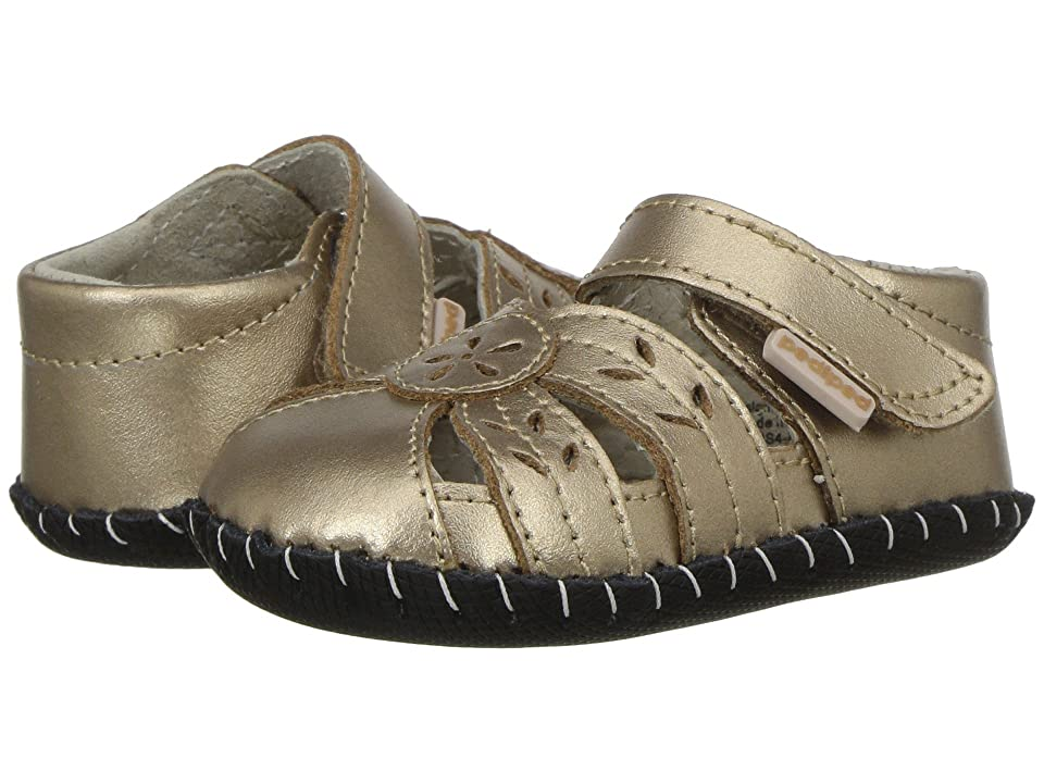pediped Daphne Original (Infant) (Champagne) Girls Shoes